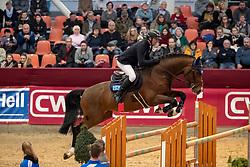 WULSCHNER Holfer (GER), Diamant de Plaisir<br /> Neustadt-Dosse - CSI 2019<br /> Youngster Tour Finale 7jährige Pferde<br /> 13. Januar 2019<br /> © www.sportfotos-lafrentz.de/Stefan Lafrentz