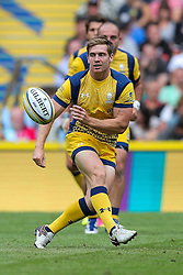 Tom Heathcote of Worcester Warriors in action - Rogan Thomson/JMP - 03/09/2016 - RUGBY UNION - Twickenham Stadium - London, England - Saracens v Worcester Warriors - Aviva Premiership London Double Header.