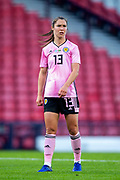 Jane Ross (#13) of Scotland during the International Friendly match between Scotland Women and Jamaica Women at Hampden Park, Glasgow, United Kingdom on 28 May 2019.