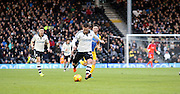 Fulham Striker Ross McCormack during the Sky Bet Championship match between Fulham and Preston North End at Craven Cottage, London, England on 28 November 2015. Photo by Pete Burns.