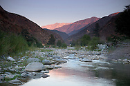 Mount Baldy and San Gabriel River, Angeles National Forest, California