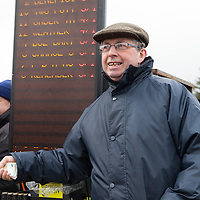 Sean Cameron, a bookie at the East Clare Harriers 2015 Killaloe point to point