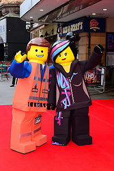 A general view of The Lego Movie VIP film screening of CGI adventure, starring some of Lego's most popular figures, which features the voices of Elizabeth Banks, Chris Pratt, Will Arnett and Morgan Freeman, at Vue West End, London, United Kingdom. Sunday, 9th February 2014. Picture by Nils Jorgensen / i-Images