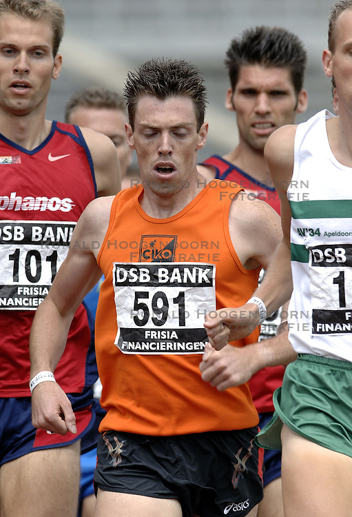 09-07-2006 ATLETIEK: NK BAAN: AMSTERDAM<br /> Bas Eefting<br /> &copy;2006-WWW.FOTOHOOGENDOORN.NL