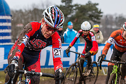 Katherine Compton (USA), Women Elite, Cyclo-cross World Championships Tabor, Czech Republic, 31 January 2015, Photo by Pim Nijland / PelotonPhotos.com