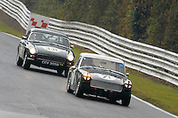 #71 Kym Bradshaw MG Midget 1380 during the CSCC Adams and Page Swinging Sixties at Oulton Park, Little Budworth, Cheshire, United Kingdom. October 15 2016. World Copyright Peter Taylor/PSP. <br /> Copy of publication required for printed pictures.  Every used picture is fee-liable. http://archive.petertaylor-photographic.co.uk