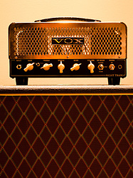An amplifier photographed for the music issue in Charleston Magazine.
