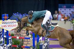 Guerdat Steve, SUI, Albfueren's Paille<br /> World Cup Final Jumping - Las Vegas 2015<br /> © Hippo Foto - Dirk Caremans<br /> 19/04/2015