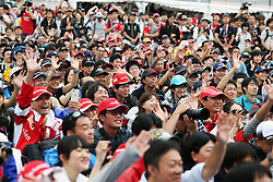Fans at the fans' stage.<br /> 08.10.2016. Formula 1 World Championship, Rd 17, Japanese Grand Prix, Suzuka, Japan, Qualifying Day.<br /> Copyright: Moy / XPB Images / action press
