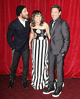 """LONDON - DECEMBER 08:  Actors Robert Downey Jr, Noomi Rapace and Jude Law attend the European Premiere of  """"Sherlock Holmes: A Game of Shadows"""" on December 8, 2011 in London, UK. (Photo by Richard Goldschmidt)"""