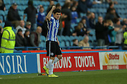 Sheffield Wednesday striker Fernando Forestieri  celebrates his first goal goal during the Sky Bet Championship match between Sheffield Wednesday and Wolverhampton Wanderers at Hillsborough, Sheffield, England on 20 December 2015. Photo by Simon Davies.