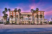 Santa Monica beach, Santa Monica, California, Casa Del Mar, Beachfront Luxury, Hotel, United States of America, North America, Gold Coast, Beach City.