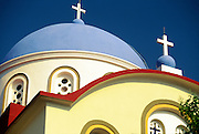 Greece, Ionian Islands, Island of Ithaca, Exogi, Greek Orthodox church.