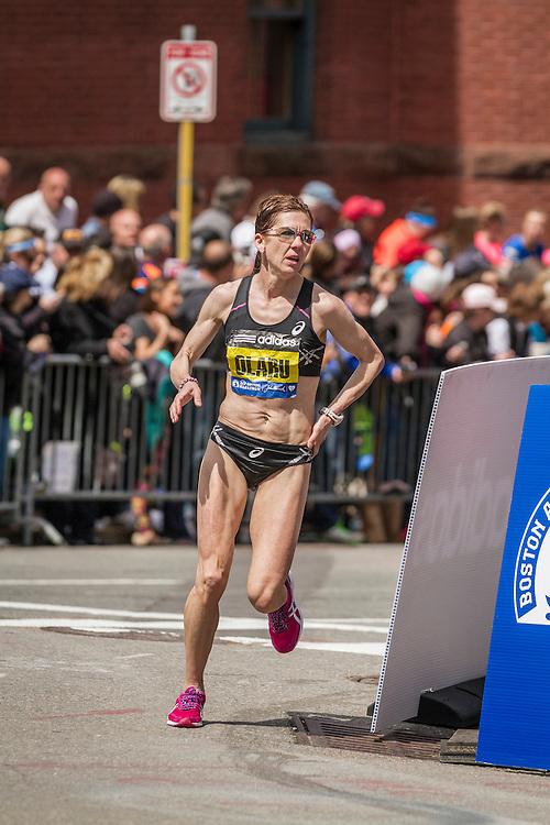 2014 Boston Marathon: Nuta Olaru