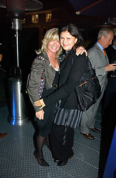 Left to right, INGRID SEWARD and TRACEY ULLMAN at a party to celebrate the 25th anniversary of leading restaurant Le Caprice held at The Serpentine Gallery, London on 3rd October 2006.<br /><br />NON EXCLUSIVE - WORLD RIGHTS