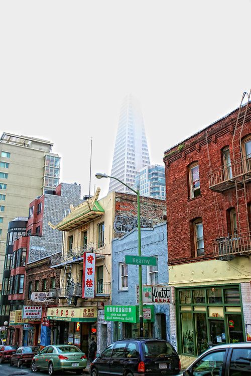 TransAmerica tower in the background of ChinaTown.  Mandatory Credit: Dinno Kovic / Dinno Kovic Photography