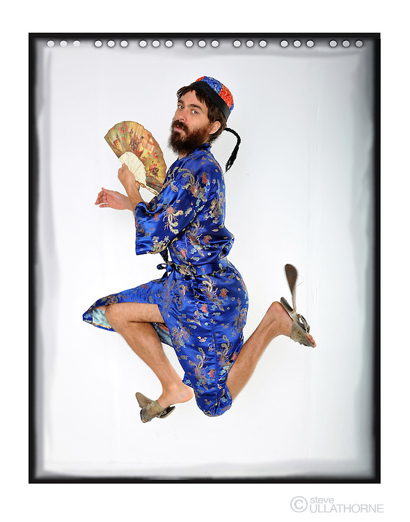 Doctor Brown. Poster shoot, Soho Theatre run.