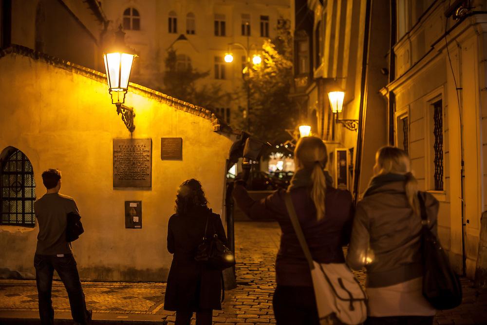 Die Alt-Neu Synagoge -  das Zentrum der jüdischen Gemeinde in Prag.