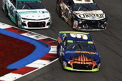 September 30, 2018 - Concord, North Carolina, United States of America - Chase Elliott (9) races during the Bank of America ROVAL 400 at Charlotte Motor Speedway in Concord, North Carolina. (Credit Image: © Chris Owens Asp Inc/ASP via ZUMA Wire)