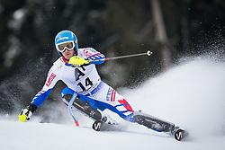 27.01.2013, Ganslernhang, Kitzbuehel, AUT, FIS Weltcup Ski Alpin, Slalom, Herren, 1. Lauf, im Bild Steve Missillier (FRA) // Steve Missillier of France in action during 1st run of the  mens Slalom of the FIS Ski Alpine World Cup at the Ganslernhang course, Kitzbuehel, Austria on 2013/01/27. EXPA Pictures © 2013, PhotoCredit: EXPA/ Johann Groder