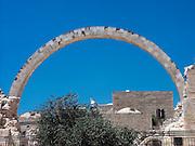 reconstruction of the RAMBAN synagogue, Jerusalem, Israel