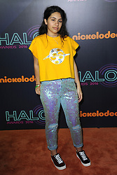 November 11, 2016 - New York, NY, USA - November 11, 2016  New York City..Alessia Cara attending the 2016 Nickelodeon HALO awards at Basketball City Pier 36  South Street on November 11, 2016 in New York City. (Credit Image: © Callahan/Ace Pictures via ZUMA Press)