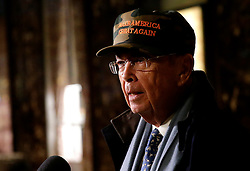 Billionaire investor Wilbur Ross speaks to reporters in the lobby of Trump Tower on November 29, 2016 in New York City. U.S. President-elect Donald Trump is still holding meetings upstairs at Trump Tower as he continues to fill in key positions in his new administration. Photo by John Angelillo/UPI