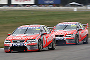 Jamie Whincup of TeamVodafone during the Winton 400  ~ V8 Supercar Series Round 9 at Winton Motor Raceway, Victoria Australia on Sunday 3rd August 2008. Photo: Clay Cross/PHOTOSPORT