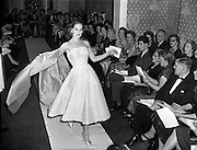 Sybil Connolly Fashion Show at New Premises at Merrion Sq..17/01/1958.<br />
