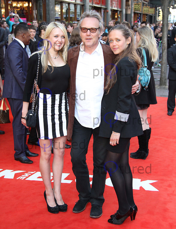 Emily Head; Anthony Head; Daisy Head Attack The Block UK Premiere, Vue Cinema, Leicester Square, London, UK, 04 May 2011:  Contact: Rich@Piqtured.com +44(0)7941 079620 (Picture by Richard Goldschmidt)