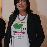 Toluca, México.- Diana Elisa González Calderón, presidenta del DIF Toluca, Anunció en conferencia de prensa que emprenderá durante el mes de julio la segunda edición de la campaña integral Porque Todos Somos Diferentes, Llámame por mi Nombre, en apoyo a personas con capacidades diferentes. Agencia MVT / Arturo Hernández.