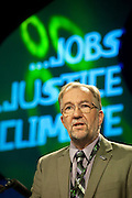 Jerry Glazier, NUT, speaking at the TUC Conference 2009...© Martin Jenkinson, tel 0114 258 6808 mobile 07831 189363 email martin@pressphotos.co.uk. Copyright Designs & Patents Act 1988, moral rights asserted credit required. No part of this photo to be stored, reproduced, manipulated or transmitted to third parties by any means without prior written permission