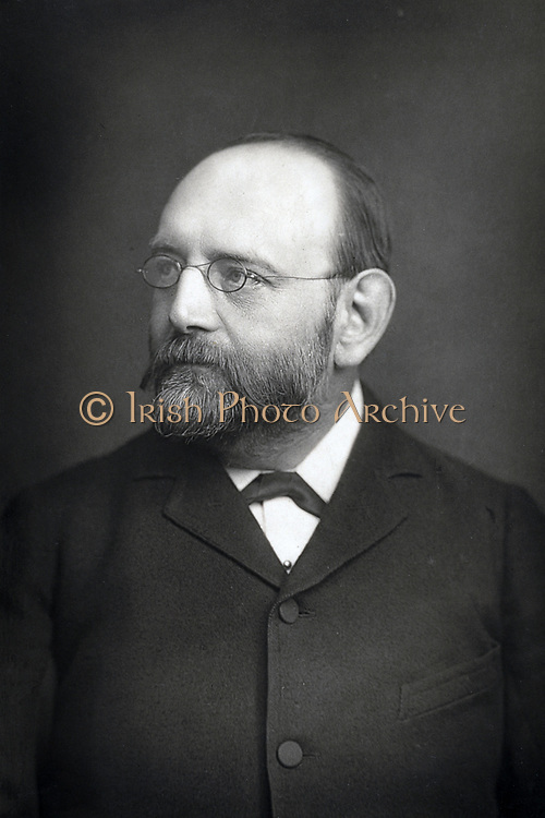Joseph Barnby (1838-1896) English composer and conductor, particularly of choral music, c1890.   From 'The Cabinet Portrait Gallery'. (London, 1890-1894).  Photograph. Woodburytype.