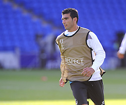 Sevilla's Jose Antonio Reyes - Photo mandatory by-line: Joe Meredith/JMP - Mobile: 07966 386802 11/08/2014 - SPORT - FOOTBALL - Cardiff - Cardiff City Stadium - Real Madrid v Sevilla - UEFA Super Cup - Press Conference and Open Training session