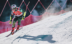 24.01.2020, Streif, Kitzbühel, AUT, FIS Weltcup Ski Alpin, SuperG, Herren, im Bild Travis Ganong (USA) // Travis Ganong of the USA in action during his run for the men's SuperG of FIS Ski Alpine World Cup at the Streif in Kitzbühel, Austria on 2020/01/24. EXPA Pictures © 2020, PhotoCredit: EXPA/ JFK