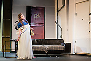 "Middletown, New York - The Apprentice Players of the SUNY Orange Arts and Communications Department peform the play ""Love's Fire"" at Orange Hall Theatre on April 16, 2015."
