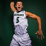 UVU Men's basketball team promo photos on the campus of Utah Valley University in Orem, Utah on Tuesday Oct. 10, 2017. (August Miller, UVU Marketing)