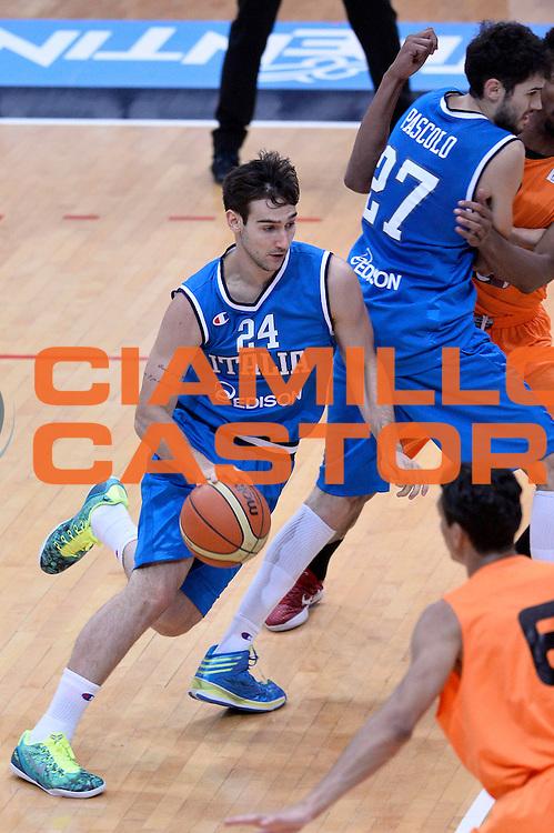 DESCRIZIONE : Trento Nazionale Italia Uomini Trentino Basket Cup Italia Olanda Italy Holland<br /> GIOCATORE : Riccardo Moraschini<br /> CATEGORIA : Palleggio<br /> SQUADRA : Italia Italy<br /> EVENTO : Trentino Basket Cup<br /> GARA : Italia Olanda Italy Holland<br /> DATA : 11/07/2014<br /> SPORT : Pallacanestro<br /> AUTORE : Agenzia Ciamillo-Castoria/GiulioCiamillo<br /> Galleria : FIP Nazionali 2014<br /> Fotonotizia : Trento Nazionale Italia Uomini Trentino Basket Cup Italia Olanda Italy Holland