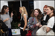LETIZIA AFENTAKIS; MAGGIE MANDER; ANNA KLOSSOWSKI; BENOIT PEVERILL; ; HARUMI KLOSSOWSKA, James Franco exhibition 'Fat Squirrel' at Siegfried Contemporary, Basset Rd, London W10.
