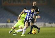 Sheffield Wednesday striker Fernando Forestieri (45) during the Sky Bet Championship match between Sheffield Wednesday and Brighton and Hove Albion at Hillsborough, Sheffield, England on 3 November 2015.
