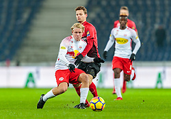 03.02.2018, Red Bull Arena, Salzburg, AUT, 1. FBL, FC Red Bull Salzburg vs FC Flyeralarm Admira, 21. Runde, im Bild Xaver Schlager (FC Red Bull Salzburg), Marcus Maier (FC Flyeralarm Admira) // during Austrian Football Bundesliga 21th round Match between FC Red Bull Salzburg and FC Flyeralarm Admira at the Red Bull Arena, Salzburg, Austria on 2018/02/03. EXPA Pictures © 2018, PhotoCredit: EXPA/ JFK
