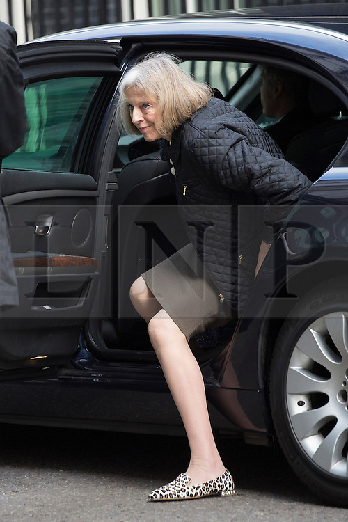 © licensed to London News Pictures. London, UK 16/04/2013. Home Secretary Theresa May arriving Downing Street for Cabinet meeting on Tuesday, 16 April 2013. Photo credit: Tolga Akmen/LNP