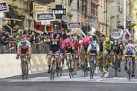 Victoire Degenkolb John / Kristoff Alexander / Matthews Michael / Bonifazio Niccolo - 23.03.2014 - Unitedhealthcare - Milan San Remo<br /> Photo : Sirotti / Icon Sport  *** Local Caption ***