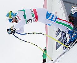 07.02.2013, Planai, Schladming, AUT, FIS Weltmeisterschaften Ski Alpin, 2. Training, Abfahrt, Damen, im Bild Nadia Fanchini (ITA) // Nadia Fanchini of Italy üin action during 2nd practice of the ladies Downhill at the FIS Ski World Championships 2013 at the Planai Course, Schladming, Austria on 2013/02/07. EXPA Pictures © 2013, PhotoCredit: EXPA/ Johann Groder