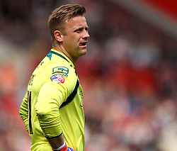 Bournemouth's Artur Boruc - Photo mandatory by-line: Robbie Stephenson/JMP - Mobile: 07966 386802 - 02/05/2015 - SPORT - Football - Charlton - The Valley - Charlton v AFC Bournemouth - Sky Bet Championsip