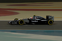 MAGNUSSEN Kevin (Dan) Mclaren Mercedes Mp4 29 Action during the 2014 Formula One World Championship, Grand Prix of Bahrain on April 6, 2014 in Sakhir, Bahrain. Photo Eric Vargiolu / DPPI