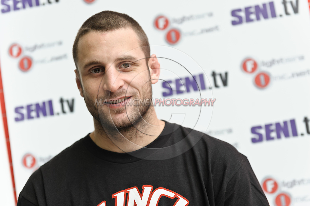 "A portrait of mixed martial arts athlete Tarec ""Sponge"" Saffiedine"