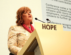 SNP Spring Conference, Sunday 28th April 2019<br /> <br /> Pictured: Fiona Hyslop MSP<br /> <br /> Alex Todd | Edinburgh Elite media