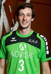 05-10-2016 NED: Selectie SSS 2016-2017, Barneveld<br /> De spelers van eredivisie club SSS voor het seizoen 2016-2017 / Nick Beckers