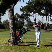 14 March 2017: Day two of the 10th annual Annual Lamkin Classic co-hosted by the San Diego State Aztec's men's golf team at the San Diego Country Club in Chula Vista, California. The Aztecs finished tied for 5th while junior Blake Abercrombie tied for 2nd overall. www.sdsuaztecphotos.com